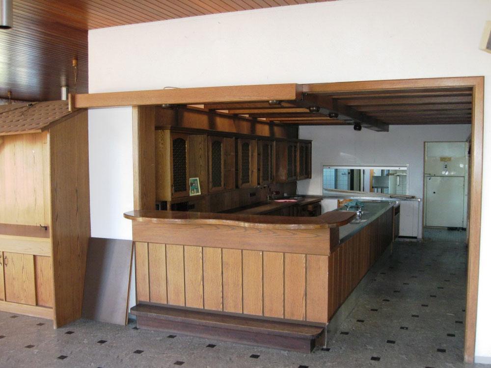 Gaststätte -Thekenbereich