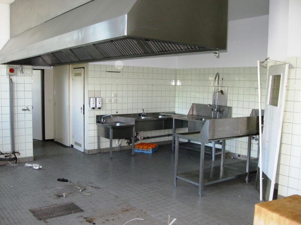 Teil des Küchenbereiches